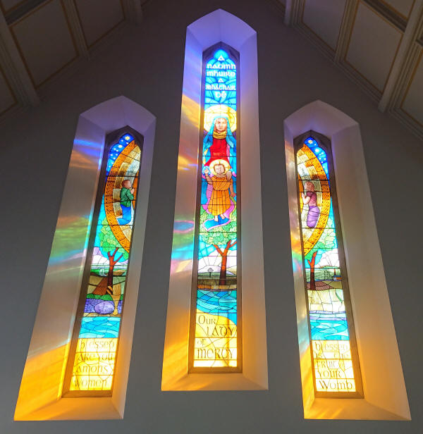 Lavey Chapel Stained Glass Windows