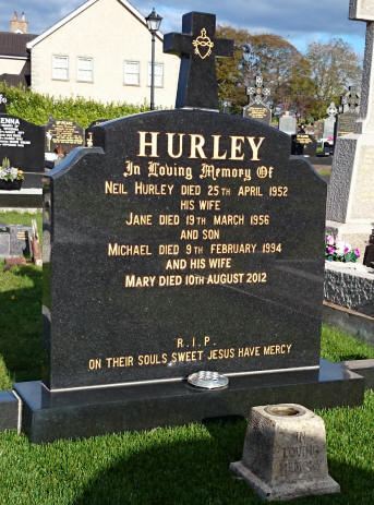 Hurley J Grave ngy