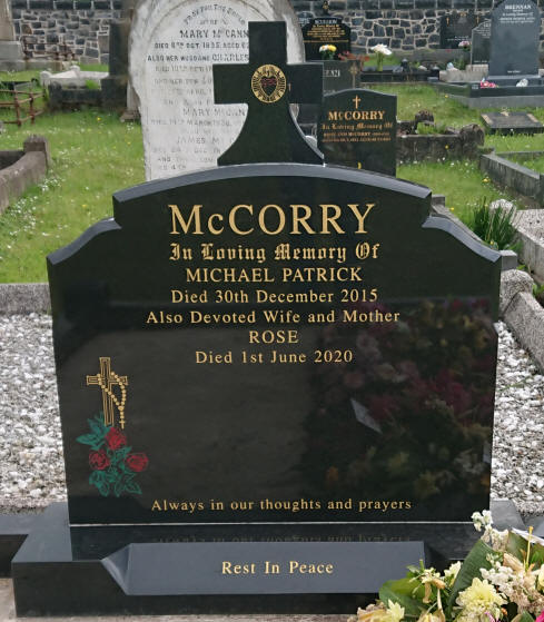McCorry Grave - Lavey Parish Co Derry Ireland